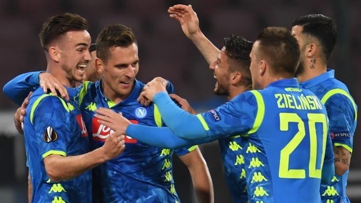 Liga Europy: SSC Napoli - Arsenal. Transmisja w Polsacie Sport Premium 1