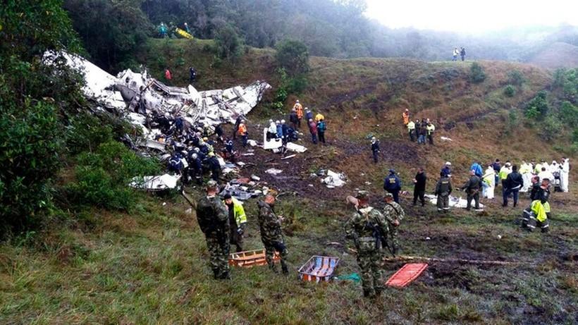 Aresztowano kobietę w sprawie katastrofy samolotu drużyny Chapecoense