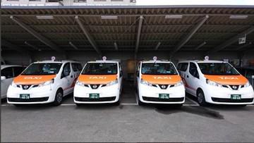 Taksówki, w których nie trzeba rozmawiać. Nowa moda w Japonii