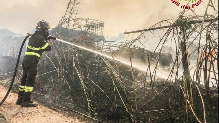 Włochy. Ogromne pożary na Sardynii. Setki ewakuowanych