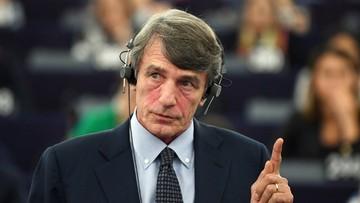 Włoch zastąpił Włocha. Nowy przewodniczący Parlamentu Europejskiego