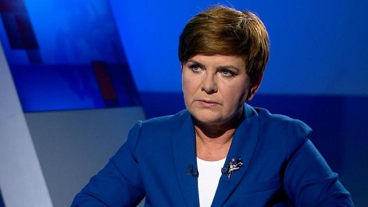 Premier Szydło będzie dziś gościem Polsat News