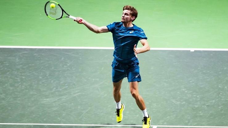ATP w Montpellier: Pierwszy od ponad trzech lat tytuł Davida Goffin