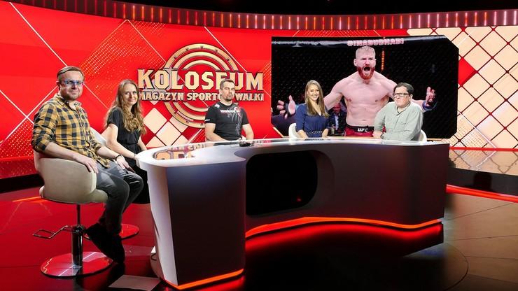 Nowe studio i prowadzący Magazynu Sportów Walki Koloseum