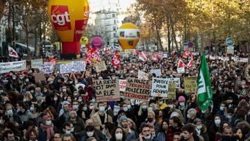 Ustawa o bezpieczeństwie globalnym. Wielotysięczne manifestacje sprzeciwu we Francji