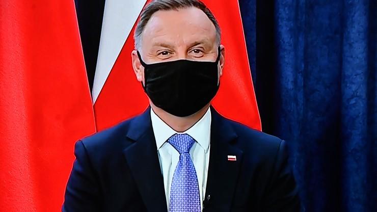 """Duda wzywa do zaostrzenia sankcji wobec Rosji. """"To nie jest kraj, któremu można ufać"""""""
