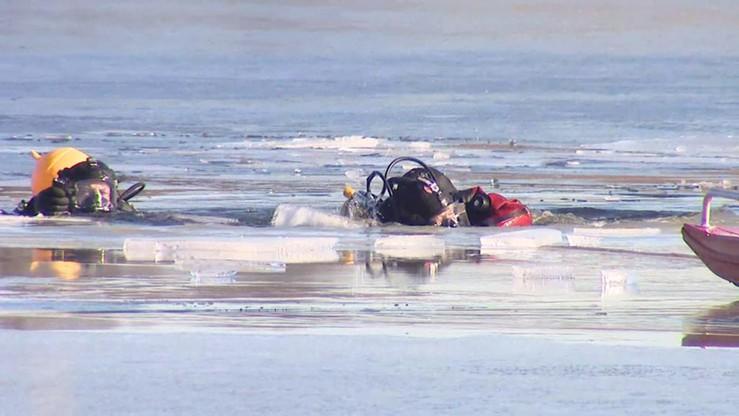 Nurkował pod lodem bez butli. Utonął