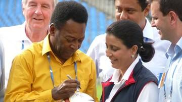 """""""Naprzód Brazylio!"""". Pele pobiegł w sztafecie z ogniem olimpijskim"""