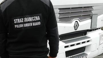 Trzech nielegalnych imigrantów w polskiej ciężarówce. Zostali zatrzymani