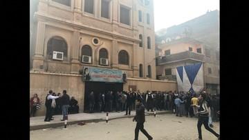 Atak na koptyjski kościół na przedmieściach Kairu. 10 osób nie żyje, w tym napastnik