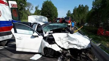 Tragiczny wypadek w Małopolsce. Trzy osoby nie żyją, cztery ranne