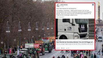 Nazistowskie symbole na traktorach i ciężarówce. Skandal w Niemczech bada policja