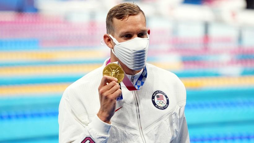 Tokio 2020. Pływanie: Caeleb Dressel złotym medalistą na 100 m st. dowolnym