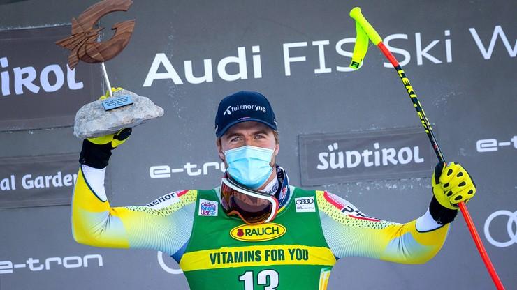Alpejski PŚ: Kilde wygrał zjazd w Val Gardenie