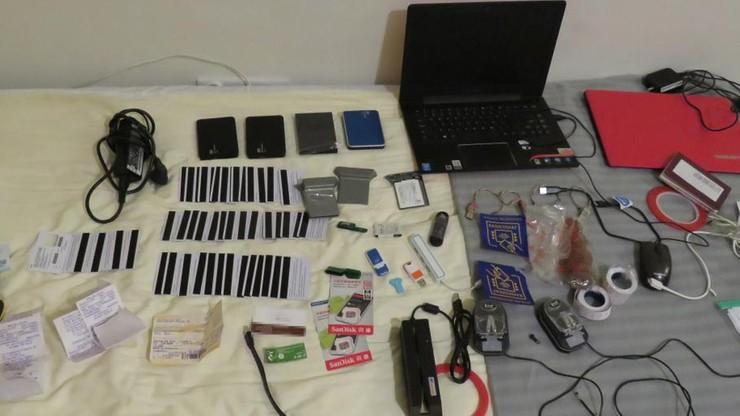 Dwie osoby zatrzymane pod zarzutem kradzieży danych z bankomatu w galerii handlowej