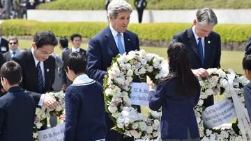 Kerry zwiedził z innymi szefami dyplomacji G7 Muzeum Pokoju w Hiroszimie
