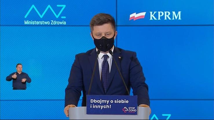 Michał Dworczyk: personel medyczny nie będzie podlegał kwarantannie