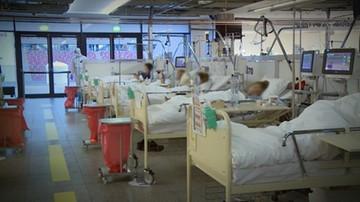 Szef szpitala na PGE Narodowym o liczbie łóżek dla zakażonych