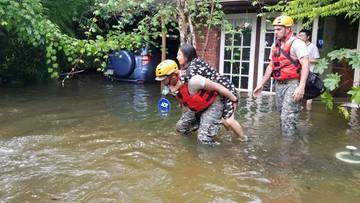 W Teksasie blisko pół miliona osób potrzebuje pomocy po przejściu huraganu Harvey