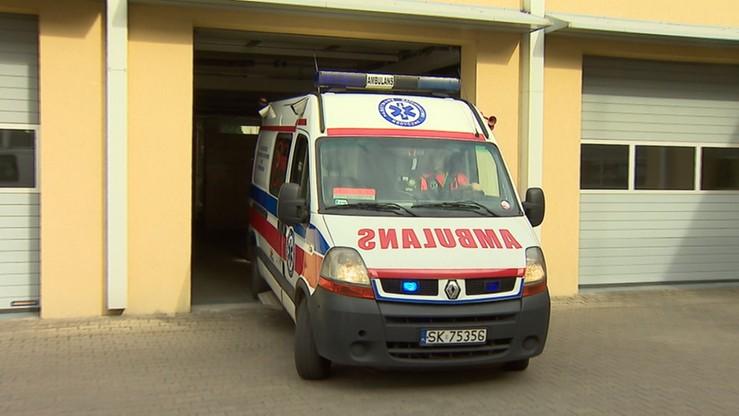 Karambol na A2. Cztery osoby zostały ranne. Blokada pasa w stronę Warszawy