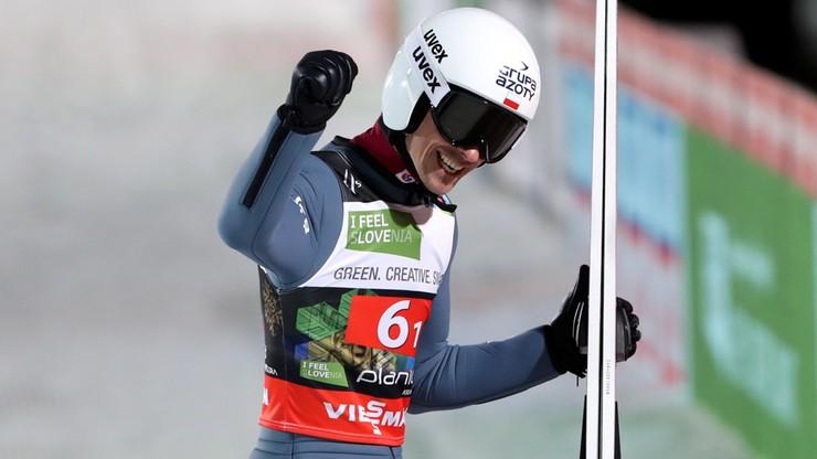 MŚ w lotach narciarskich w Planicy. Polscy skoczkowie zdobyli brązowy medal