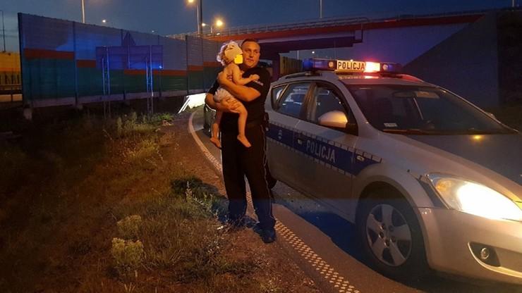 Uciekał przed policją, był pod wpływem alkoholu. W aucie wiózł 2-letnią córkę