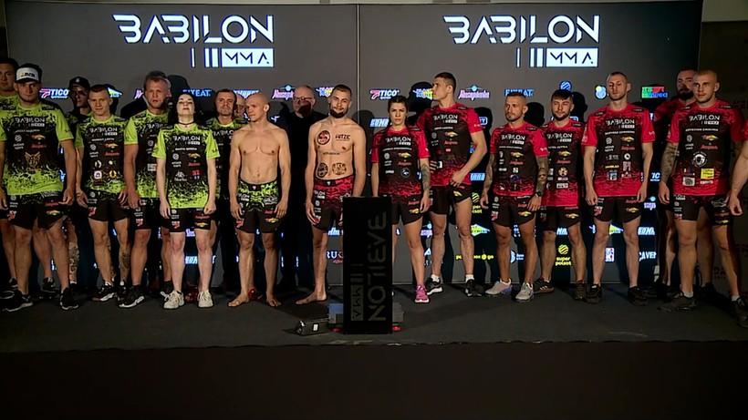 Babilon MMA 25: Wyniki ważenia