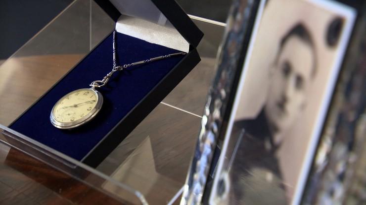 Dostał zegarek dziadka więzionego w niemieckich obozach koncentracyjnych