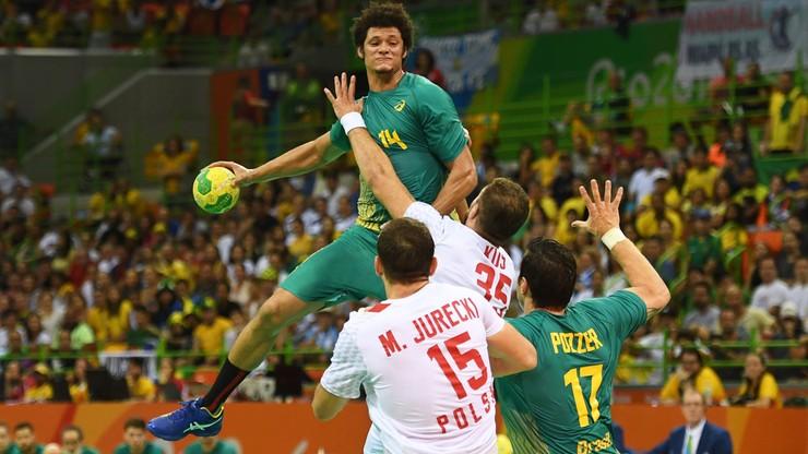 Rio: polscy piłkarze ręczni ulegli gospodarzom. Przegrali z Brazylią 32:34