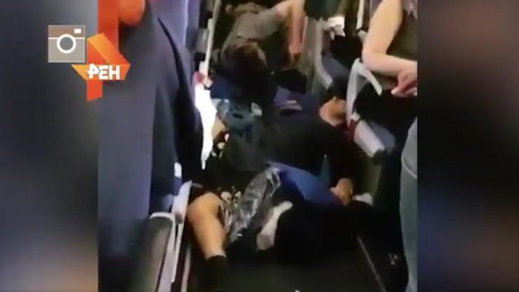 Pechowe lądowanie samolotu Aerofłotu. 27 osób rannych