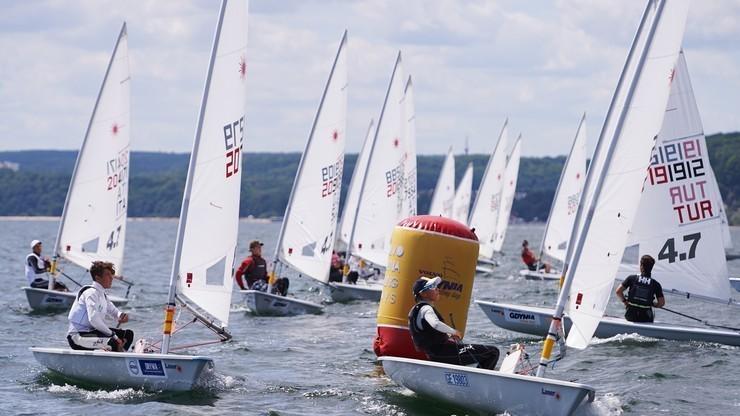 MŚ w żeglarstwie: Skrzypulec i Ogar na 18. pozycji w Aarhus