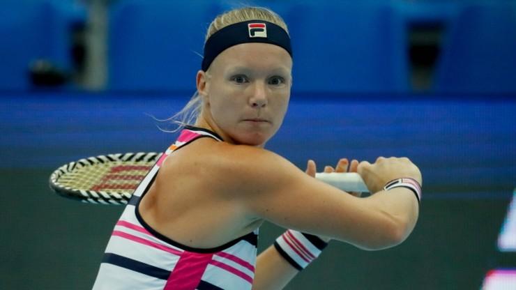 WTA w Moskwie: Porażka Bertens w ćwierćfinale, awans Bencic