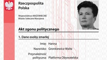 """Śledztwo przeciwko Młodzieży Wszechpolskiej ws. """"aktów zgonu politycznego"""" umorzone"""