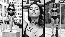 #Supermodelka Plus Size - uliczna sesja