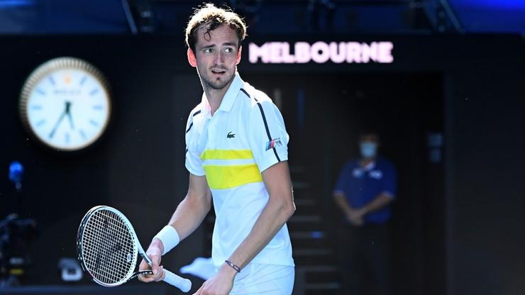 Australian Open: Rosyjski ćwierćfinał dla Miedwiediewa