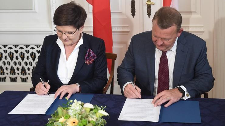 Premier Szydło podpisała memorandum ws. gazociągu Baltic Pipe