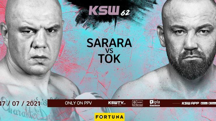 Tomasz Sarara zadebiutuje w MMA na gali KSW 62!