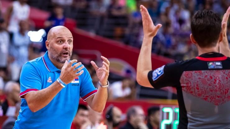 MŚ koszykarzy: Trener Serbów zrezygnował