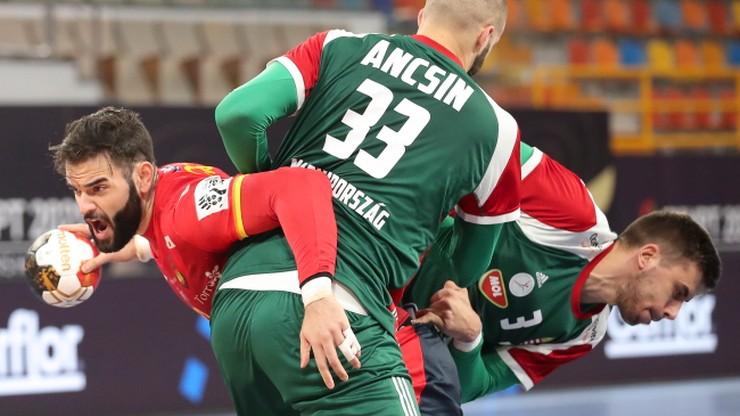 MŚ w piłce ręcznej 2021: Hiszpania wygrała grupę. Pierwsza porażka Węgier