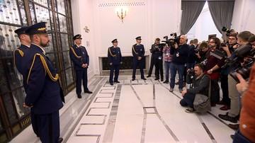 Nieoficjalnie: komendant Straży Marszałkowskiej odwołany