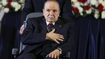 Prezydent Algierii złożył rezygnację
