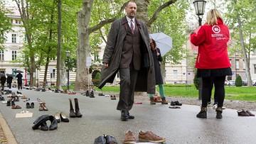 """""""Protest porzuconych butów"""". Chorwaci chcą zatrzymać młodych w kraju"""