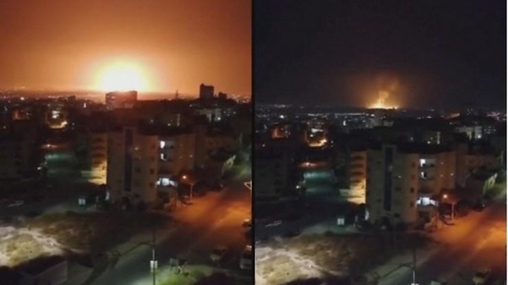 Potężna eksplozja wstrząsnęła miastem w Jordanii. Wybuch w składzie amunicji [WIDEO]