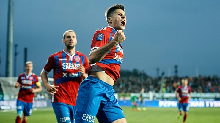 Fortuna 1 Liga: Raków Częstochowa - Podbeskidzie. Transmisja w Polsacie Sport News