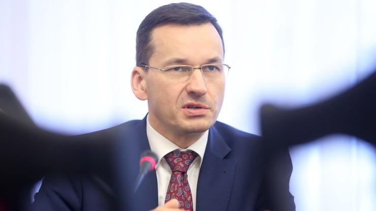 Wicepremier Morawiecki: 500+ nie na dzieci poza Polską. I być może nie od 1 kwietnia