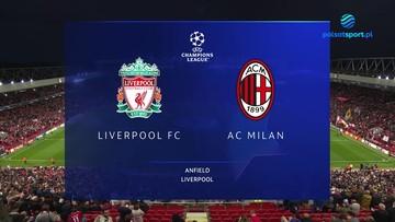 Liverpool FC - AC Milan 3:2. Skrót meczu