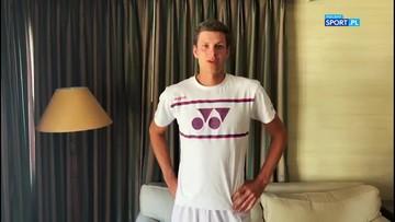 Hurkacz: Odwołanie Wimbledonu nie jest wielkim zaskoczeniem