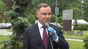 Prezydent Duda skomentował ułaskawienie Śpiewaka