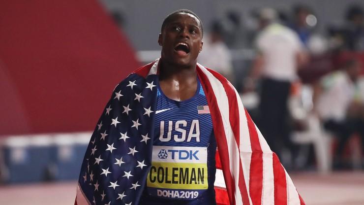 Tokio 2020: Skrócona dyskwalifikacja nie pomoże. Christian Coleman nie weźmie udziału w igrzyskach