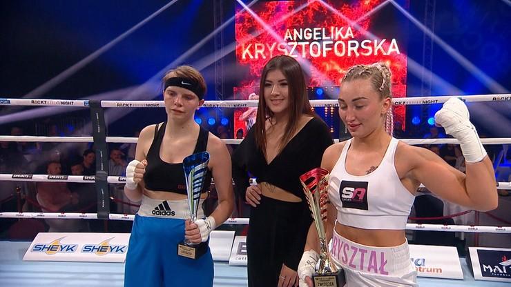 Rocky Boxing Night: Efektowny debiut Angeliki Krysztoforskiej